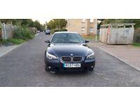 2007 BMW 5 Series 3.0 530d M Sport 4dr Auto+Diesel+Cream+Leather+HPI @07445775115
