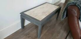 Marble grey coffee table