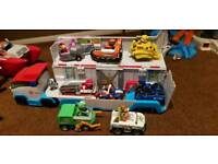 Paw patrol lorry plus all 6 dogs, Ryder and his ATV and tracker