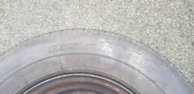 2x 165/80R13 tyres with wheels