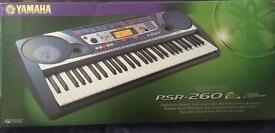 Yamaha PSR-260 keyboard