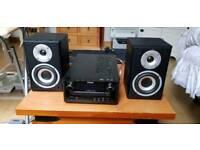 Teac DAB Mini Hifi with speakers