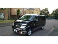 2004 / 2003 Nissan Elgrand E51 3.5 V6 Automatic 8 Seater. Choice of two