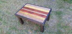Handmade reclaimed pallet wood recycled coffee table