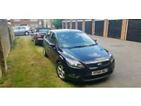 2009 Ford Focus - 1.8 Petrol Black - Sat Nav. New MOT & Full Service
