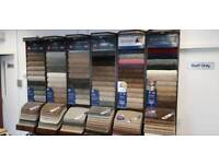6 Used Carpetline wall stands