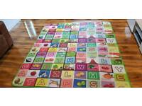 Baby double sided play mat