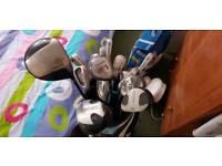 John letters golf set