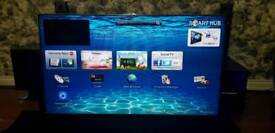 """Samsung 55"""" 3D Smart 1080P with builtin freeview"""