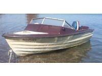 Bonwitco boat with Yamaha 20hp 2 stroke