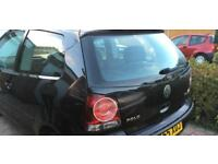 VW 1.2E Black Polo 2006 55 plate 3 door FSH