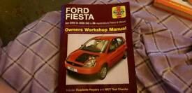 Haynes manual ford fiesta mk 6