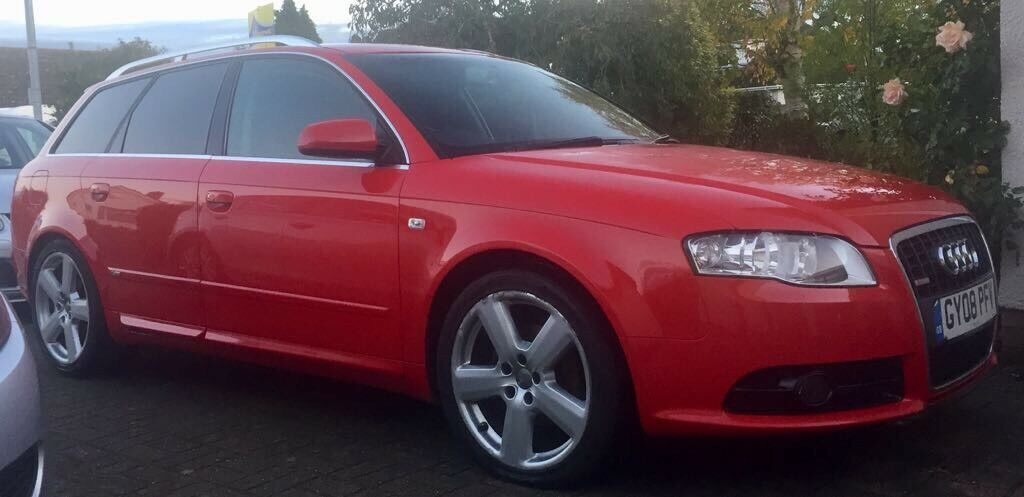 Audi A4 Avant 2.0 TDI S Line 5 door (2008)