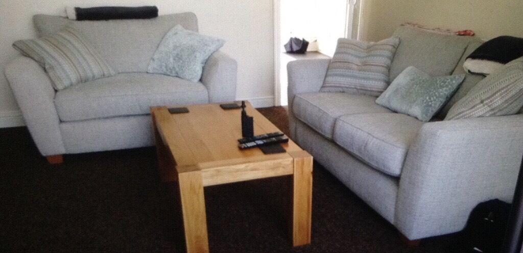 dfs sophia 2 seater cuddler sofa bargain in sittingbourne