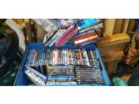 Bag of mixed dvds