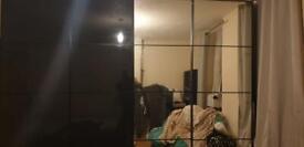 Large Bedroom Wardrobe with Mirror door
