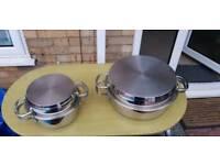 AGA casserole. 30cm and 20cm. New