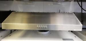 "24"" Undercabinet Range Hood Stainless Steel with Mesh"