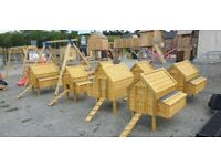 Wooden hen arks T & G boards
