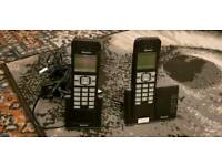 BINATONE portable house phones (nearly new ) for sale