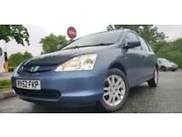 Honda Civic automatic 1.6 leather interior 07903496696