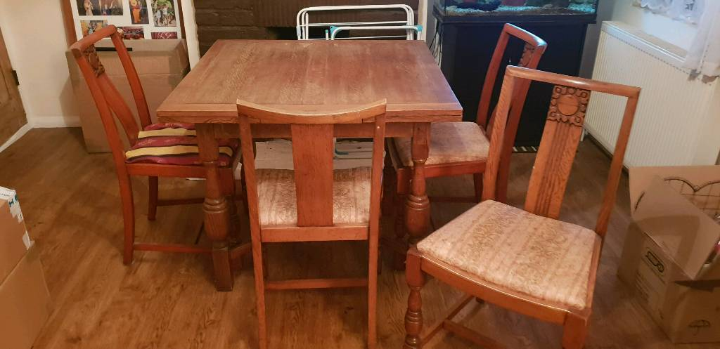 fb116cb320 Dining Table and chair set   in Ashford, Surrey   Gumtree