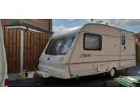 2000 YEAR CARAVAN BAILEY PAGEANT WITH MOTOR MOVER, AWNING AND FULL EQUIPMENTS