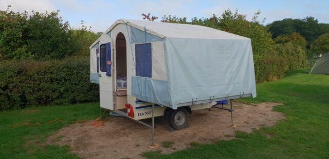 Dandy Dart folding camper/ trailer tent in good condition | in Dibden  Purlieu, Hampshire | Gumtree