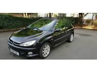 2000 Peugeot 206 Gti 136bhp 2.0 patrol 3 doors full service history