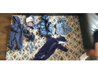 Boy toddler baby bundle clothes and shoes age 6-9 months