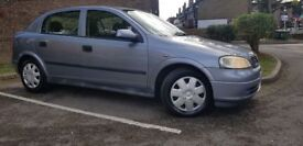 VAUXHALL ASTRA CLUB AUTOMATIC,, LONG MOT ,, SERVICE HISTORY,,2 KEYS,,CLEAN AND TIDY £999