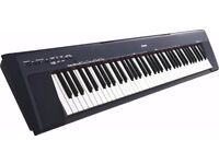Yamaha Np30s-k portable digital piano including a stand and a stool