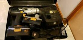 4 DRILLS with batteries and chargers for sale