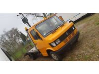 Left Hand drive Mercedes 207D Recovery