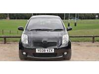 TOYOTA YARIS 1.0L SR 2008 2 OWNERS FULLY OPTIONS MOT TILL11/4/2019 10 SERVICES HPI CLEAR