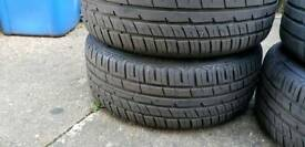 Bmw alloy with tyres