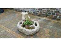 Solid Granite Water & Plant Feature
