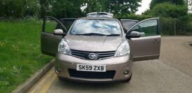 2010 NISSAN NOTE AUTOMATIC 5 DOORS PETROL - MPV - LOW MILES