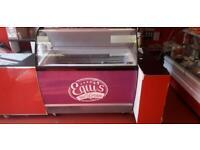 Ice cream freezer display