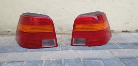 VW Golf MK4 rear lights lamps off side near side