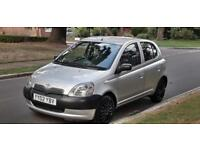 TOYOTA YARIS D4D DIESEL £30 ROAD TAX PER YEAR CHEAP TO INSURE IDEAL FIRST CAR