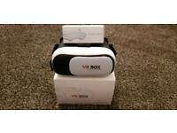 VR Box Googe Cardboard and Blutooth Controller