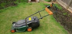 Black & Decker electric lawnmower