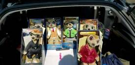 6x Compare the Meerkat joblot dolls