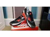 Brand New Nike Air Max 90 - Red/Black/White