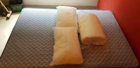 Double Divan with Matress, x2 Pillows and a Duvet + Covers