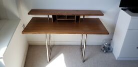 Walnut desk by Terence Conran