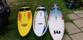 Three wave boards