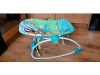 Baby chair rocker jungle theme