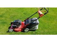"Efco 18"" self propelled lawnmower in Excellent condition honda engine"